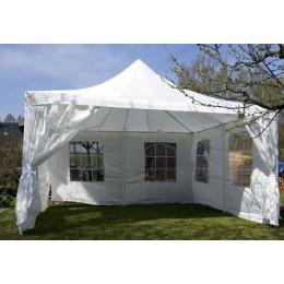 Zahradní párty stan 4x4 metru bílý